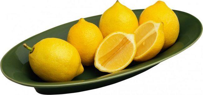 народний засіб від лупи лимон